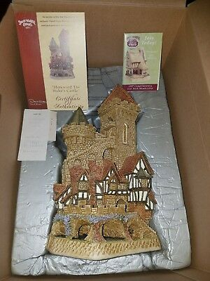 David Winter Cottages HEREWARD THE WAKE'S CASTLE BOX & COA Signed Limited D1007
