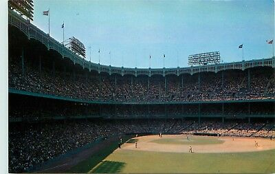New York City, NY, Yankee Stadium from Right Field Grandstand, Postcard d6486