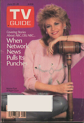 1987 TV Guide Markie Post of Night Court June 20-26