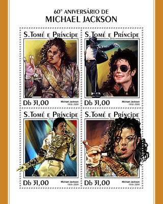 Z08 IMPERF ST18313a Sao Tome and Principe 2018 Michael Jackson MNH ** Postfrisch