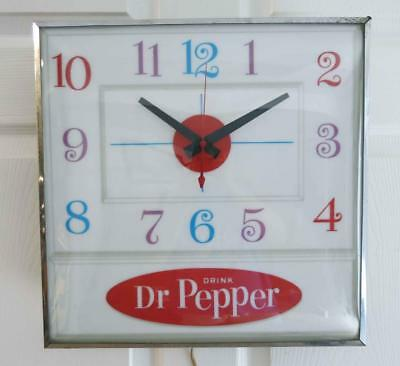 VINTAGE PAM LIGHTED Wall Clock