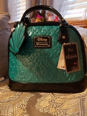 Disney Loungefly Little Mermaid Ariel Satchel Purse Limited Edition,pre owned