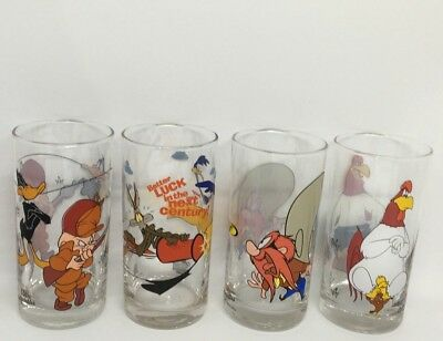 Mixed Lot Of Ixl Collectable Glasses X4