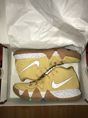 online retailer 1667e 7b602 NIKE KYRIE 4 Cinnamon Toast Crunch Size 9 Basketball Shoes In Hand!