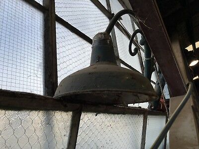 Original cast iron street lamp