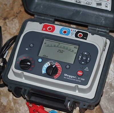 Megger S1-568 5kv INSULATION TESTER Tool Test Equipment Superb Exct. Condition