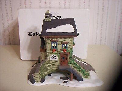 "Dept 56 Dickens Village ""the Maltings"" Lighted Building"