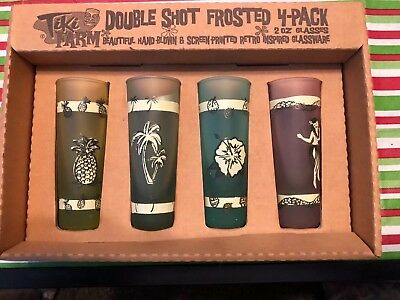 Tiki Farm Double Shot Frosted 4-Pack