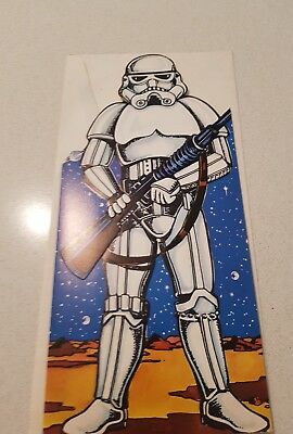 Vintage Star Wars Birthday Card 70's