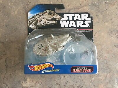 Star Wars Millennium Falcon HOT WHEELS STAR SHIPS