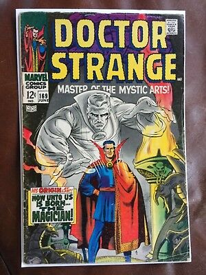 Rare 1968 Silver Age Doctor Strange #169 Key Issue Complete
