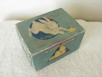 Antique CANDY EASTER EGG BOX Hardie's Pittsburgh