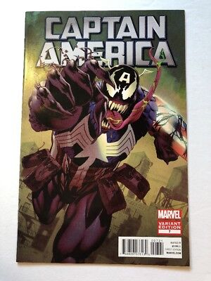 Captain America #7 Venom Variant 2011 Marvel ( Like Iron Man 512 )