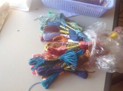 Embroidery Threads X 50