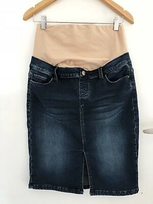 Jeans West Maternity Denim Skirt size 10