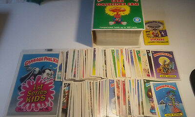 1985-88 Garbage Pail Kids Original Series Lot of 150+ Cards, Unopened Pack, Case
