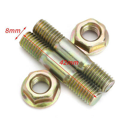 Nuts 62cc & Sx62 For Baumr-Ag M8 Zinc Chainsaw Fit Bar 4pcs Parts 4500 Stock