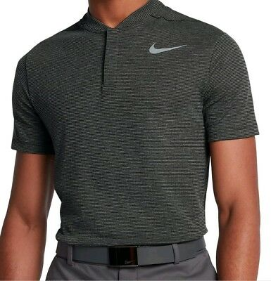 7a8c3573 NIKE AEROREACT MODERN DRI-FIT GOLF POLO 854229-010 Men's - SIZE SMALL -
