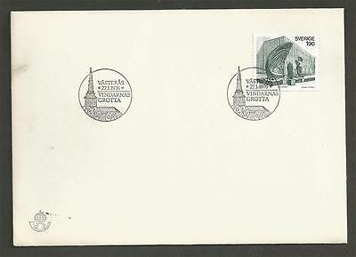 SWEDEN - 1976 The Grotto of the Winds     - FIRST DAY COVER