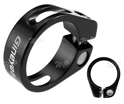 Alloy Mountain MTB/Road Bike Bicycle Cycling Seat Post Clamp 34.9mm Black