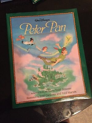 Walt Disney's Peter Pan Hardcover Book