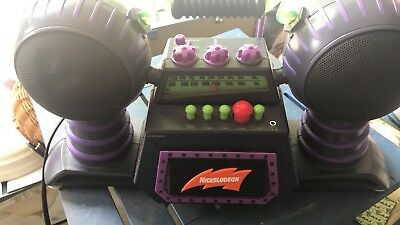 Nickelodeon AM/FM STEREO RADIO CASSETTE PLAYER Blast Boom Box
