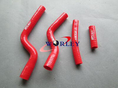 For YAMAHA YZ250F YZF 250 YZF250 2007 2008 2009 07-09 Silicone Radiator Hose RED