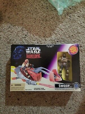 Star Wars Shadows Of The Empire Swoop Speeder Bike with Figure