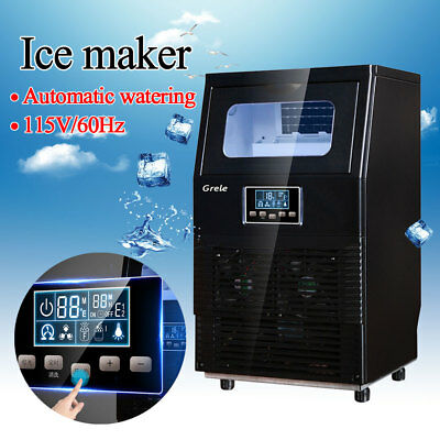 2018 Brand New Automatic Commercial Ice Maker Rapid Ice Cube Making Machine 38kg