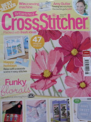 CrossStitcher Issue 215 (April 2009); UK Cross Stitch Magazine; No free gift