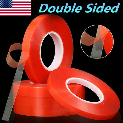 Double Sided Adhesive Tape 3M Tape 2mm,3mm,5mm,8mm,10mm Cell Phone Repair 25M US