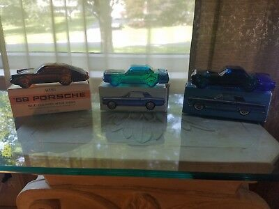 Avon Collectible Car Aftershave Decanters (3 Cars)