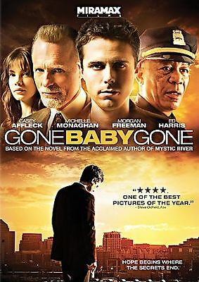 Gone Baby Gone DVD Casey Affleck Michelle Monaghan Morgan Freeman