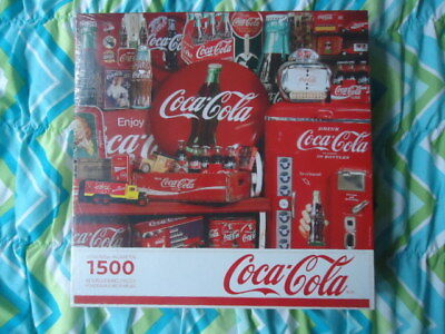 Coca Cola Memories Souvenirs Springbok 1500 Pieces Jigsaw Puzzle New Sealed