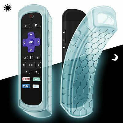 Silicone Case Cover for Roku Ultra / Roku 4 3 2 1 Remote Shock Proof Anti Slip