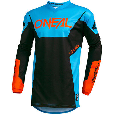 NEW Oneal Mx 2019 Element Racewear Blue Motocross Dirt Bike Premium Jersey