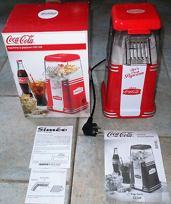 Siméo - Machine pop corn Simeo CC120 COCA COLA