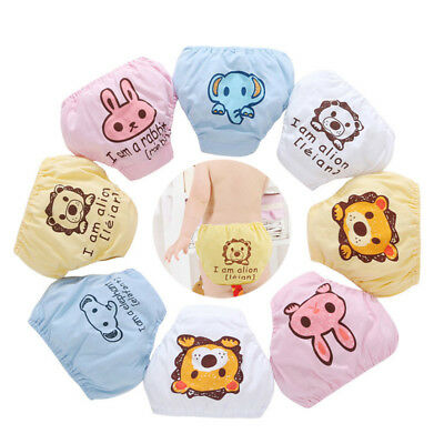 Kids Baby Infant Reusable Washable Cloth Diaper Nappy Cover Adjustable Diapers