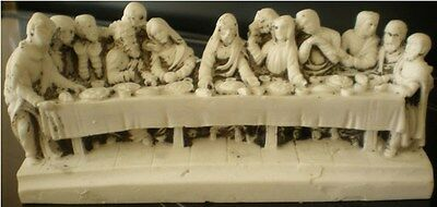 Latex Craft Mould For Last Supper Reusable Art & Crafts Hobby Business