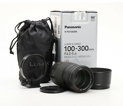 Panasonic Lumix G Vario 100-300 mm 4-5.6 OIS + TOP (213042)
