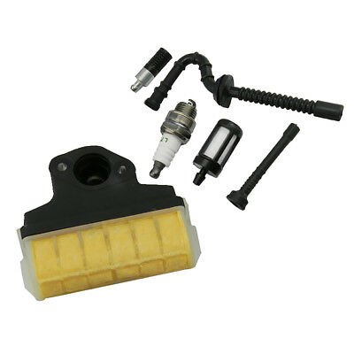 Spark Plug Air Filter Fuel & Oil Line Filter for STIHL MS210 MS230 MS250 021