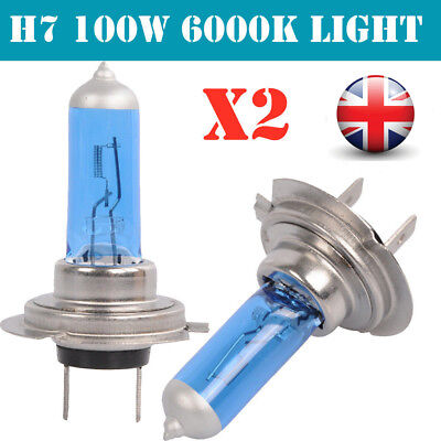 H1 H7 H4 H11 55W 100W Xenon White 6000k Halogen bulbs Blue Car Head Lamps Globes