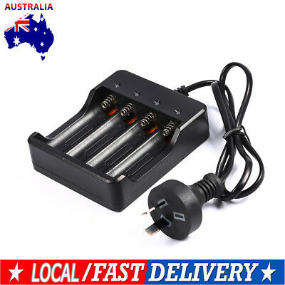4 Slots Smart Intelligent Battery Charger For 18650 Lithium Rechargeable Battery