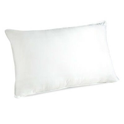 Royal Comfort Soft Cotton Pillow Bed Pillowcase Hypoallergenic Firm Cover White