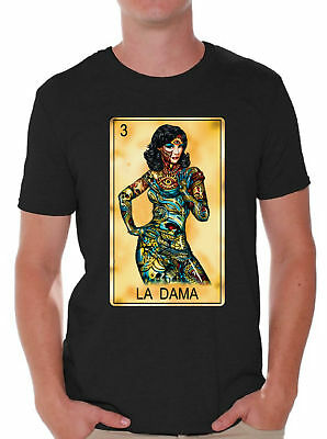 el borracho loteria t shirt mexican bingo la borracha his hers