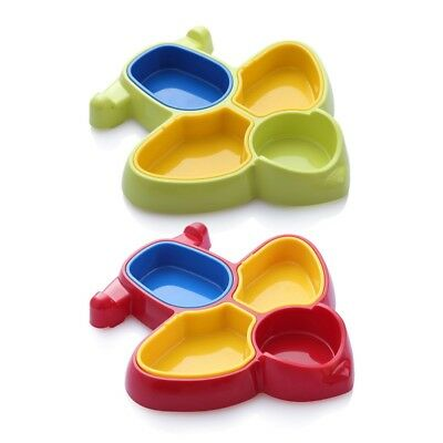 Kid Baby Plane Shape Food Dish ABS Baby Table Food Tray Plate Food Divide Bowl