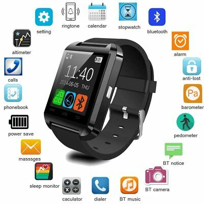 Bluetooth Smart Watch SIM Call Sport Phone Wrist Kids Men for Android iOS iPhone
