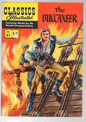 #61 The Buccaneer Cecil B DeMille Classics Illustrated HRN 141 British Edition