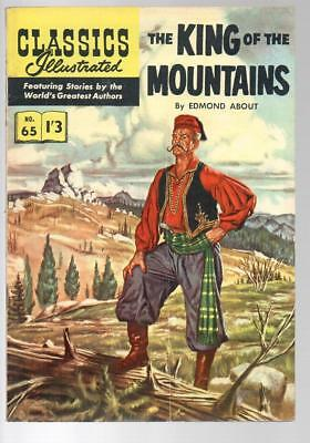 #65 King Of Mountains Edmond About Classics Illustrated HRN 134 British Edition