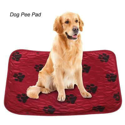 4 layers Reusable Pet Puppy Cat Dog House Training Pee Pad Washable Urinal Pad